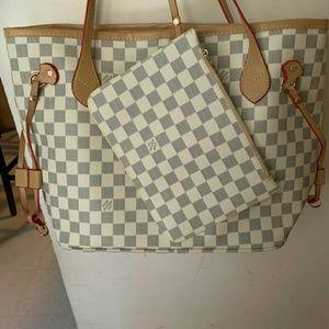 Neverfull Louis Vuitton should bag size MM vgdgfd